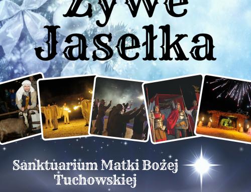 Żywe Jasełka przy bazylice mniejszej w Tuchowie