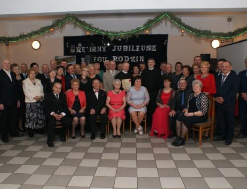 Srebrny jubileusz Kręgu Rodzin w Tuchowie 2.02.2019 r.