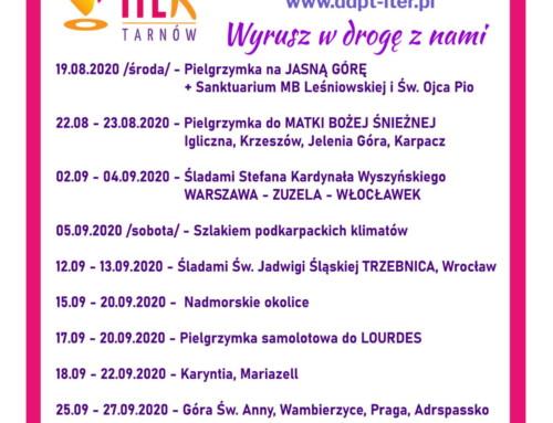 Pielgrzymuj z Diecezjalnym Duszpasterstwem Pielgrzymkowo-Turystycznym ITER