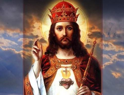 Uroczystość Chrystusa Króla Wszechświata – 22.11.2020.