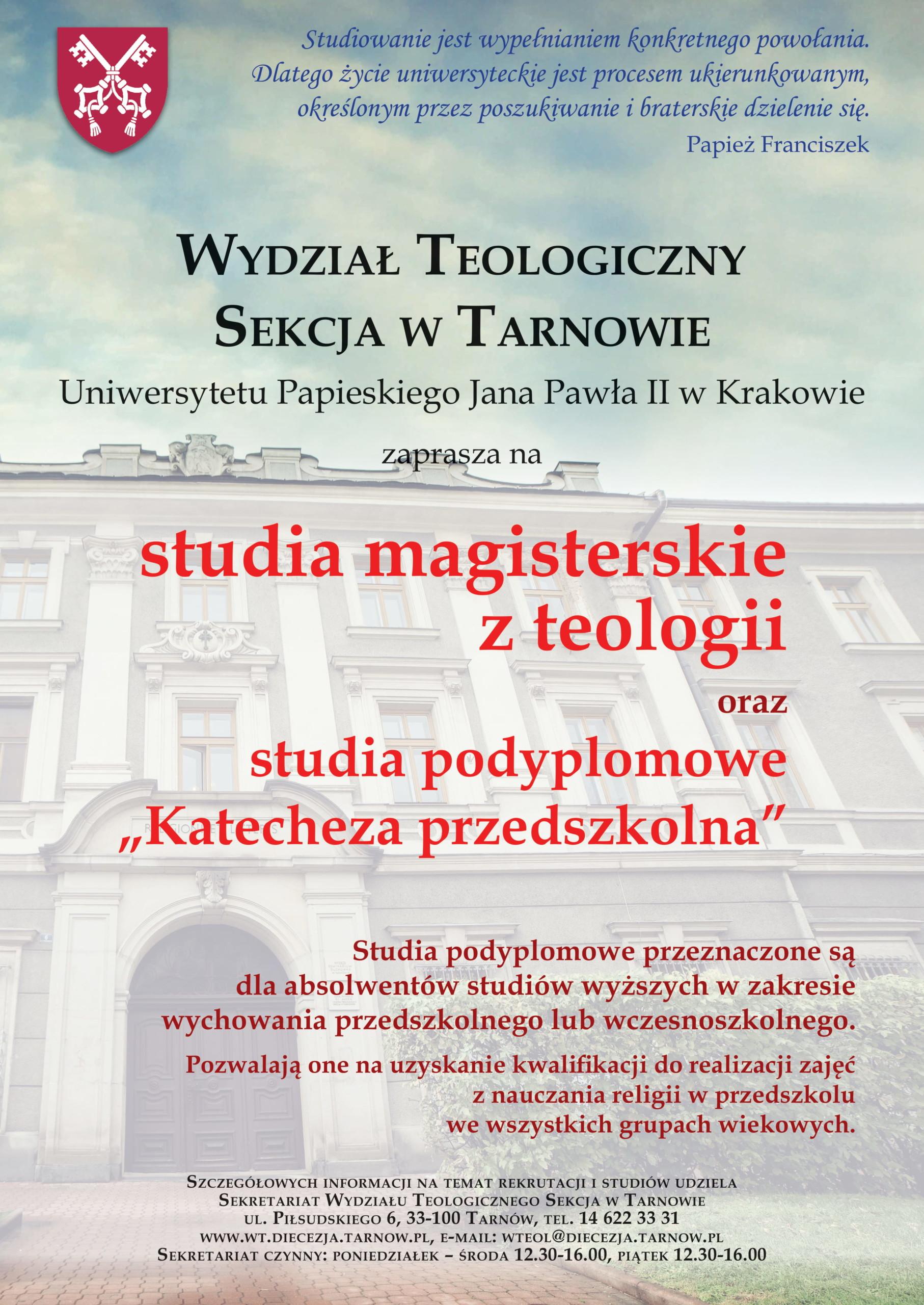 Studia z teologii